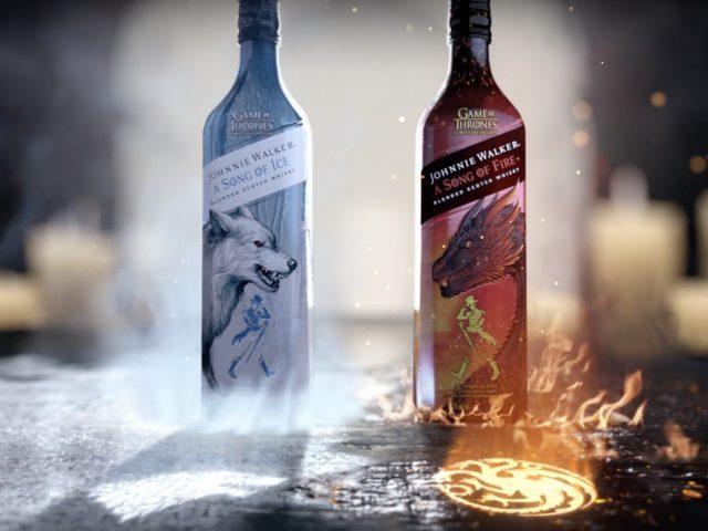 La canción de hielo y fuego de Johnnie Walker