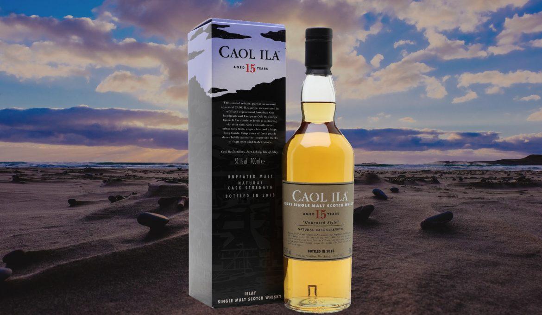 Caol Ila Unpeated 15 años (Diageo Special Releases 2018)
