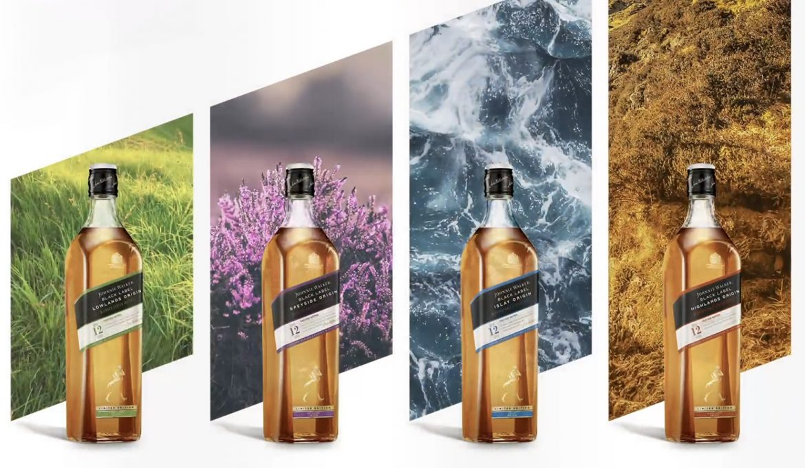 Los perfiles de Escocia con Johnnie Walker Black Label Origin Series