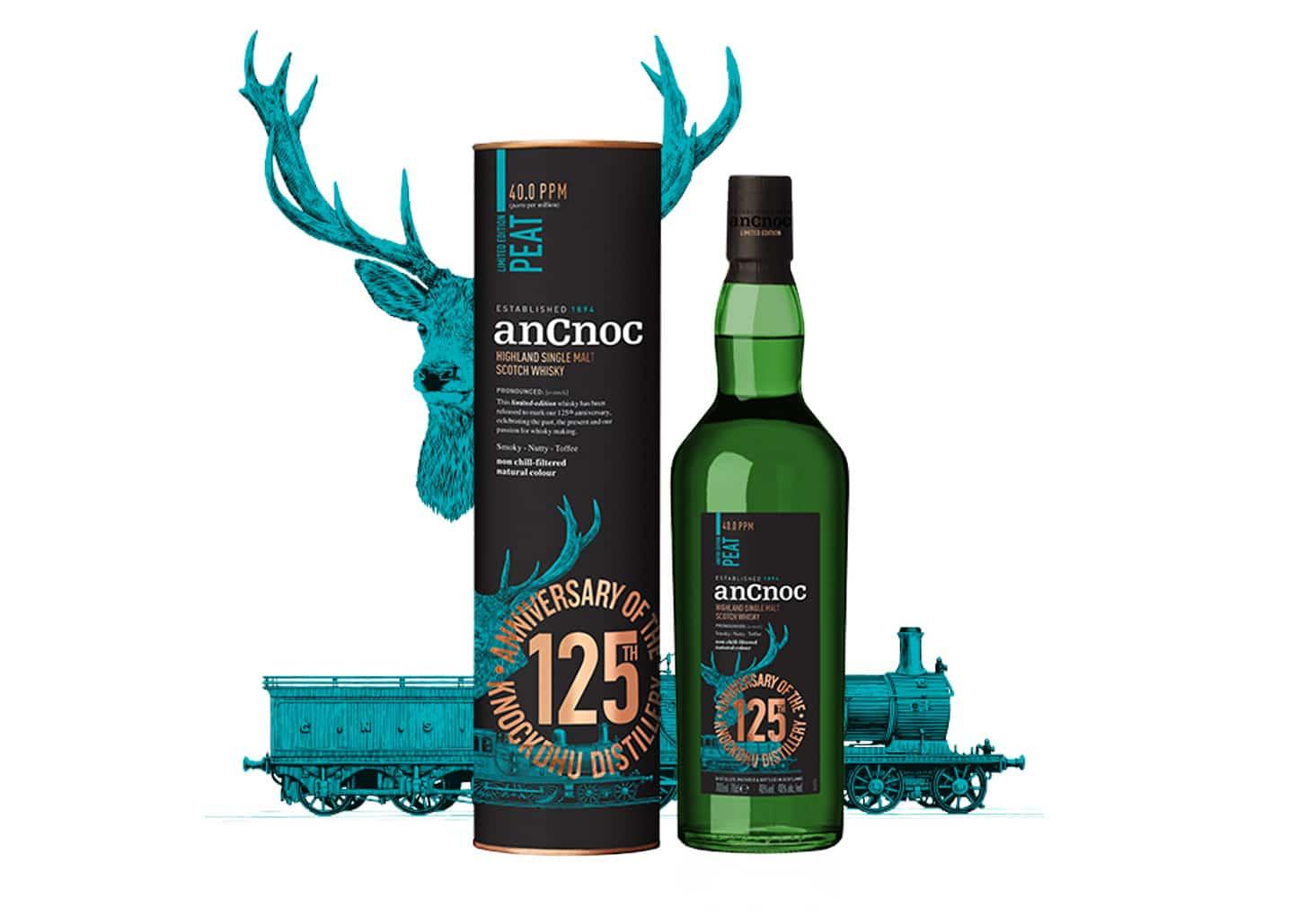 anCnoc Peat 125 aniversario - Todo Whisky