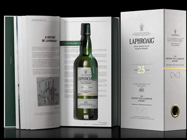 Laphroaig Bessie Williamson Story - Todo Whisky