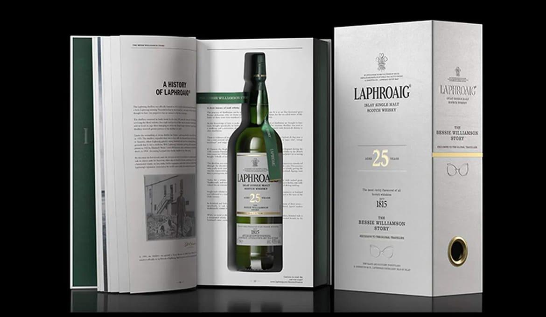 Laphroaig Bessie Williamson Story - Todo Whisky