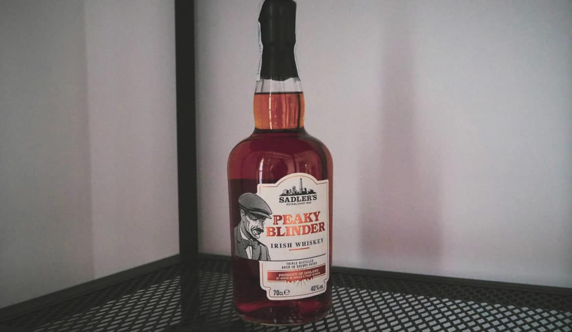 Sadler's Peaky Blinder Irish Whiskey - Todo Whisky