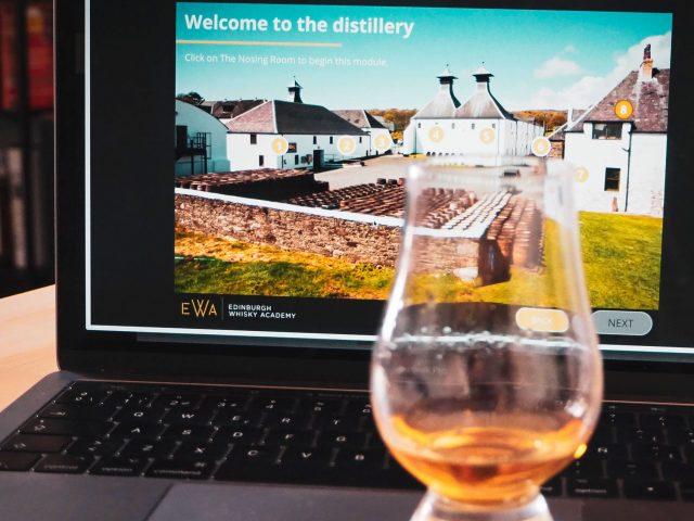 Cursos de whisky online para el confinamiento