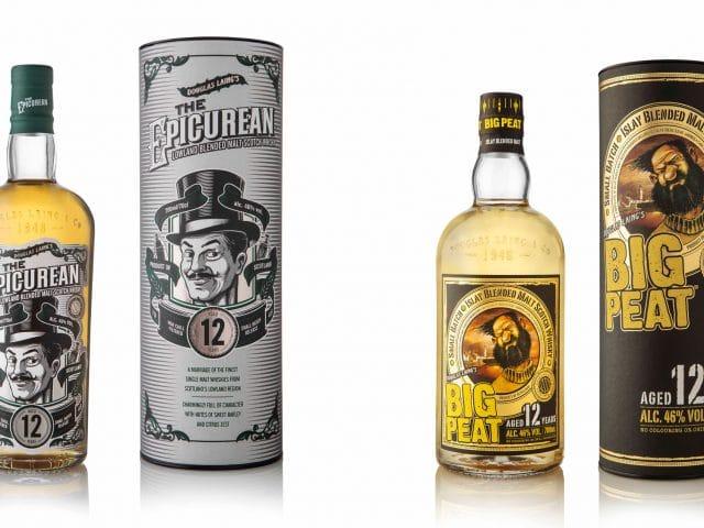 Big Peat 12 años y The Epicurean 12 años - Todo Whisky