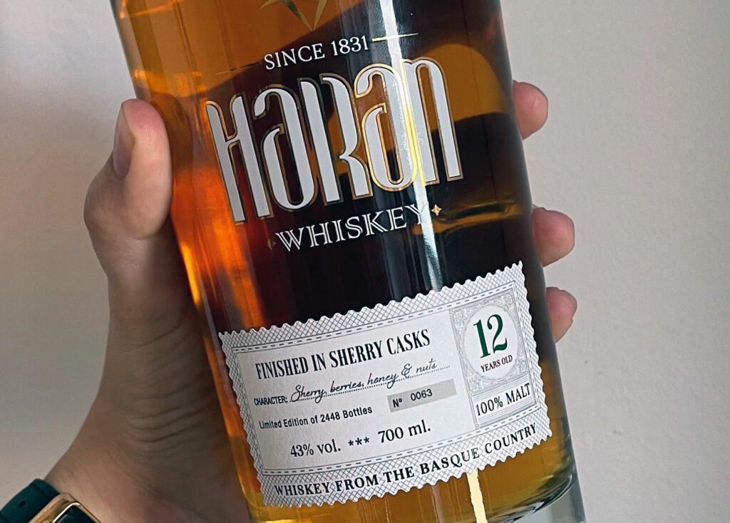 Haran 12 Sherry Casks - whisky español - Todo Whisky